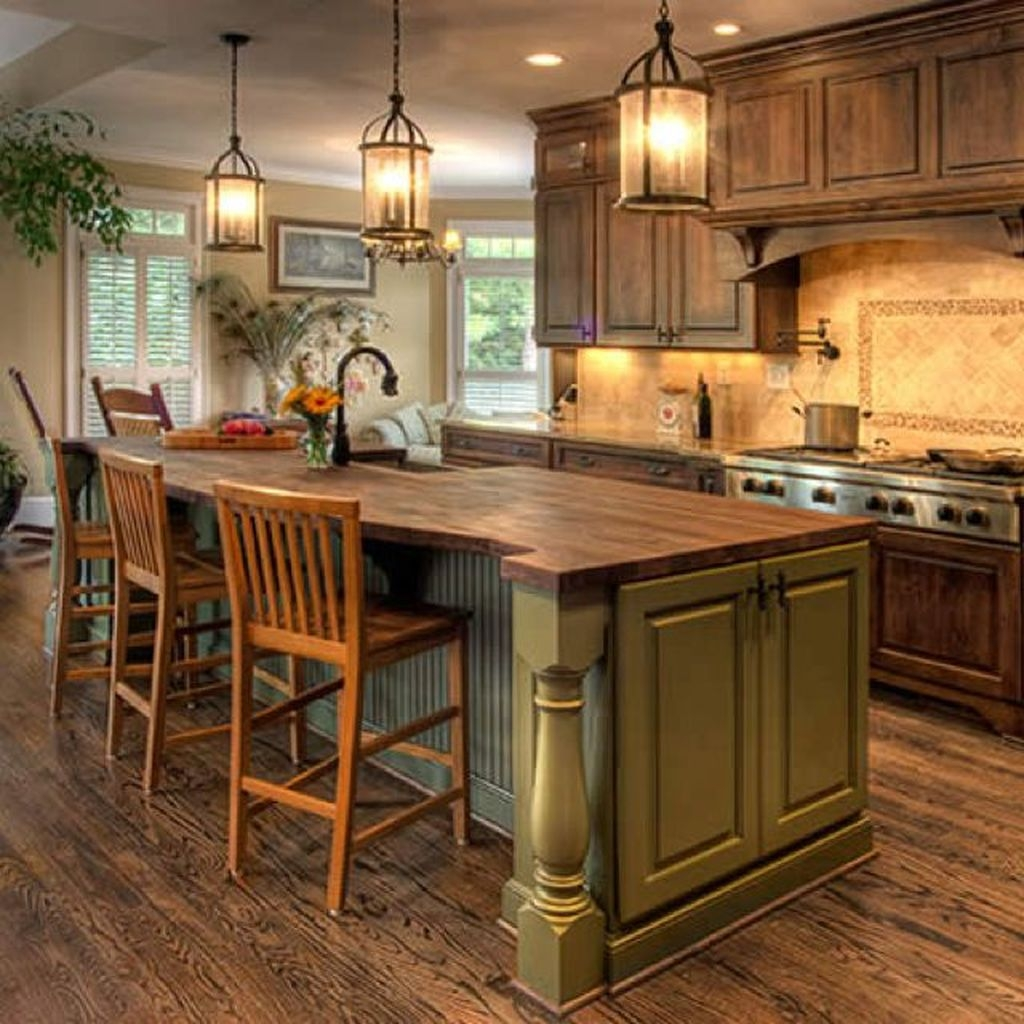 Popular Rustic Kitchen Cabinet Should You Love 27