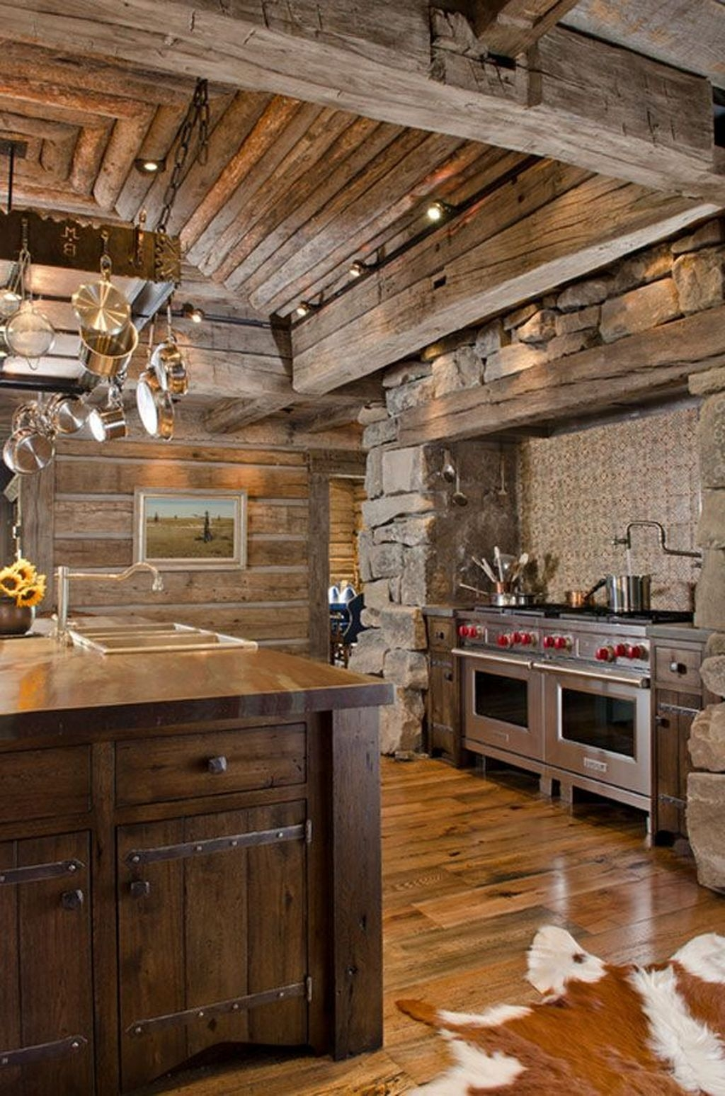 Popular Rustic Kitchen Cabinet Should You Love 30