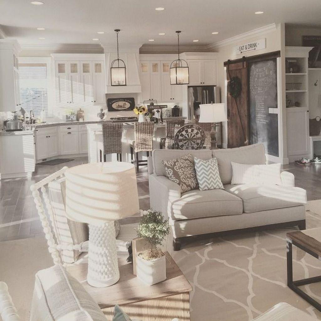 Stunning Modern Farmhouse Decorations Ideas 24