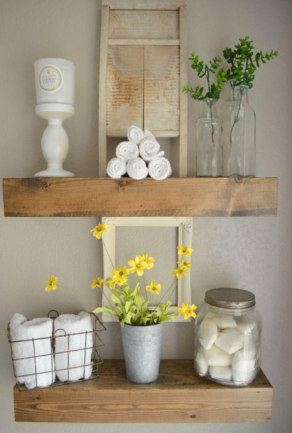 Stunning Modern Farmhouse Decorations Ideas 50