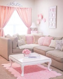 Stunning Romantic Living Room Decor 01