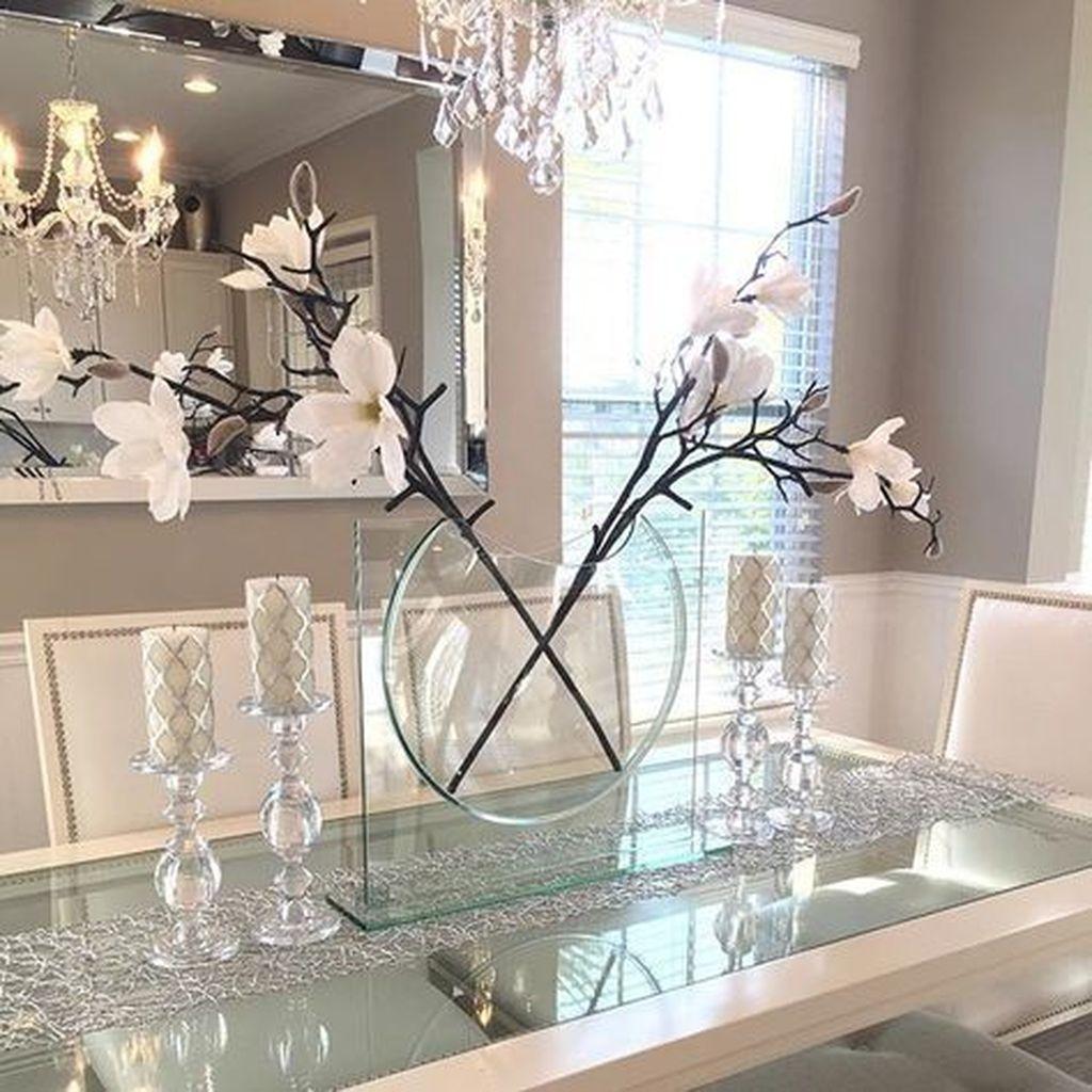 Sweet Romantic Dining Room Decor 09