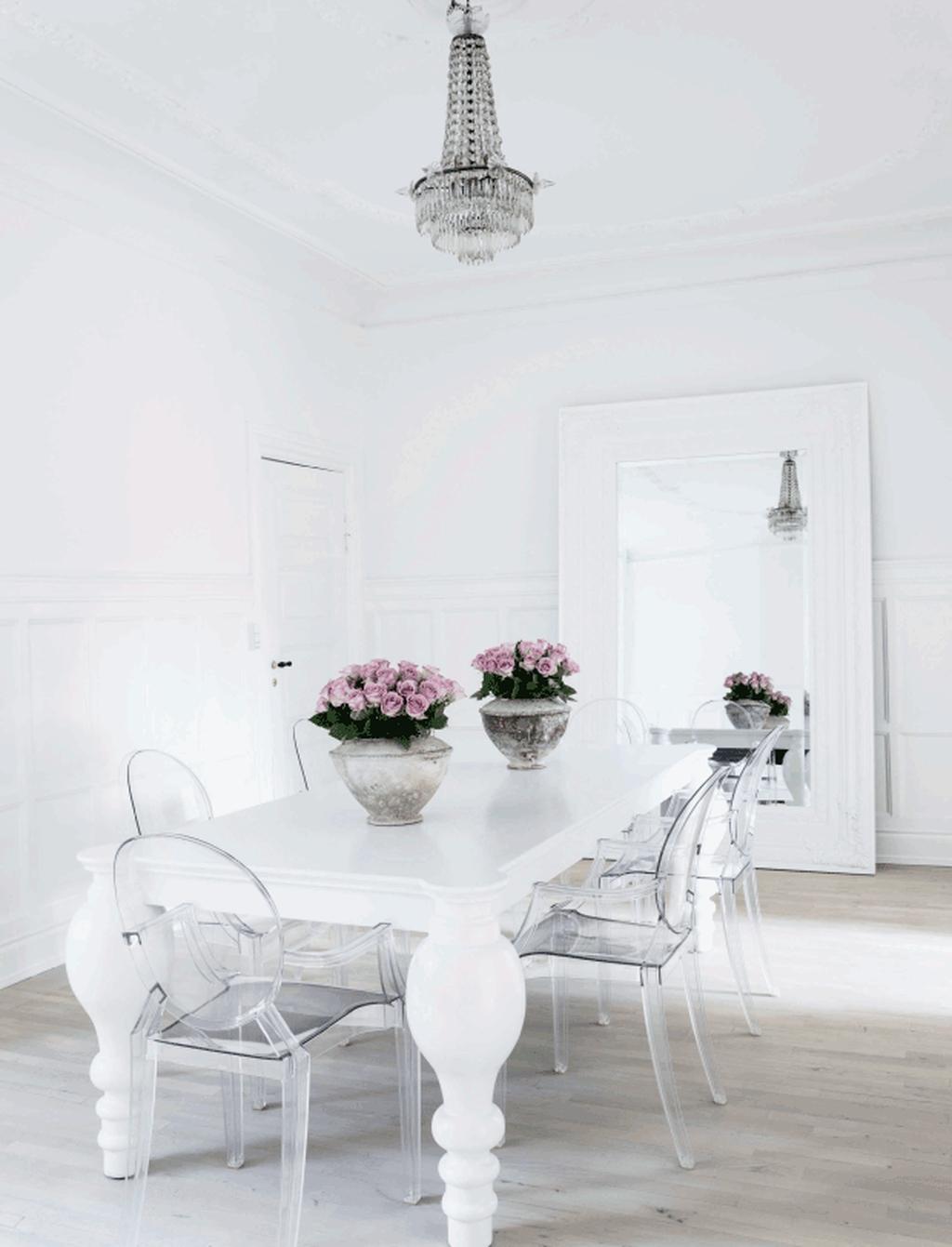 Sweet Romantic Dining Room Decor 12