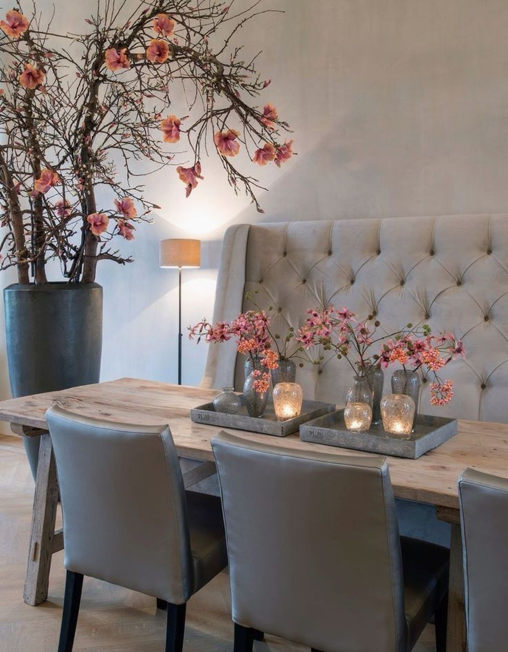 Sweet Romantic Dining Room Decor 18