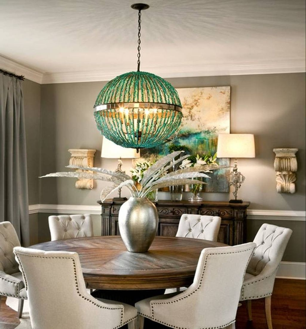 Sweet Romantic Dining Room Decor 27
