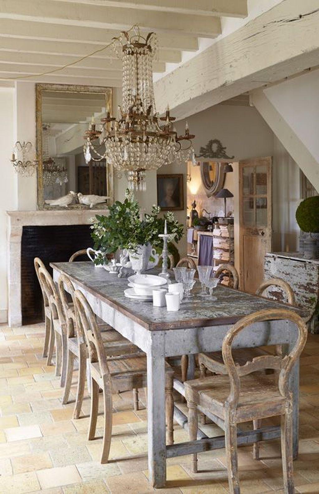 Sweet Romantic Dining Room Decor 41
