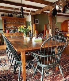 Amazing Rustic Dining Room Design Ideas 11