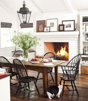 Amazing Rustic Dining Room Design Ideas 18