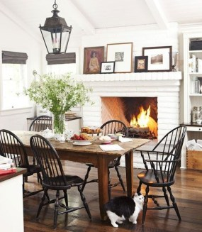 Amazing Rustic Dining Room Design Ideas 18