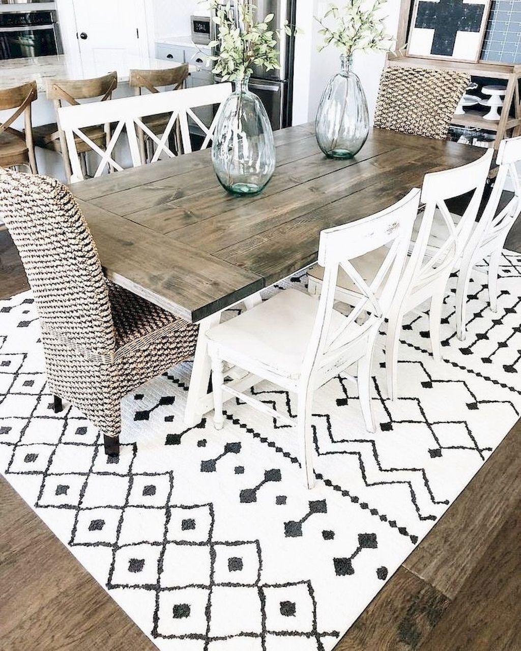 Amazing Rustic Dining Room Design Ideas 29