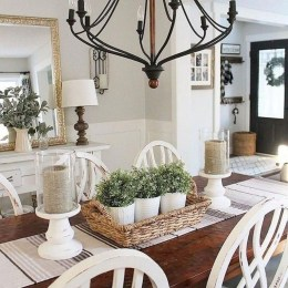 Amazing Rustic Dining Room Design Ideas 31