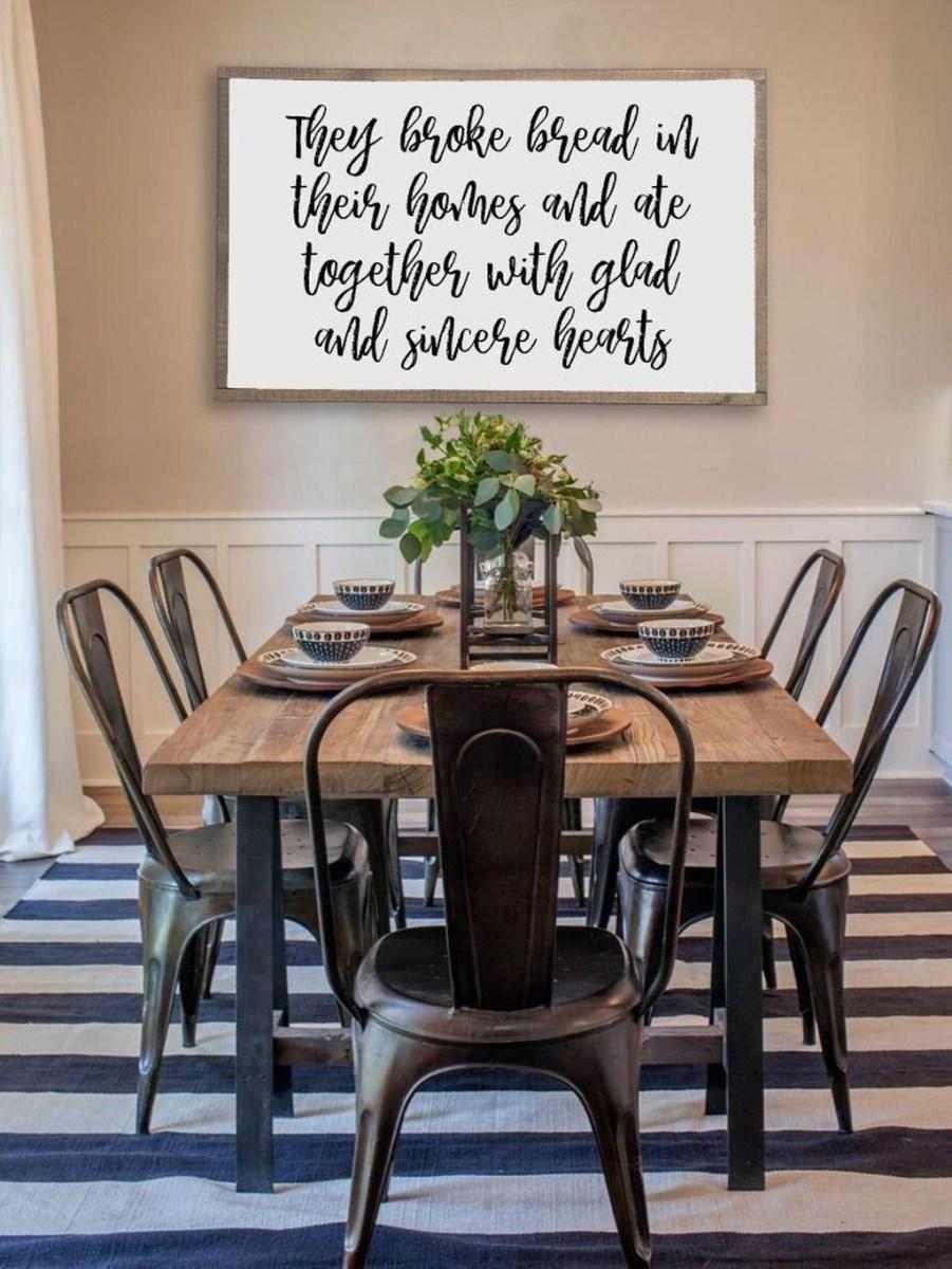 Amazing Rustic Dining Room Design Ideas 50