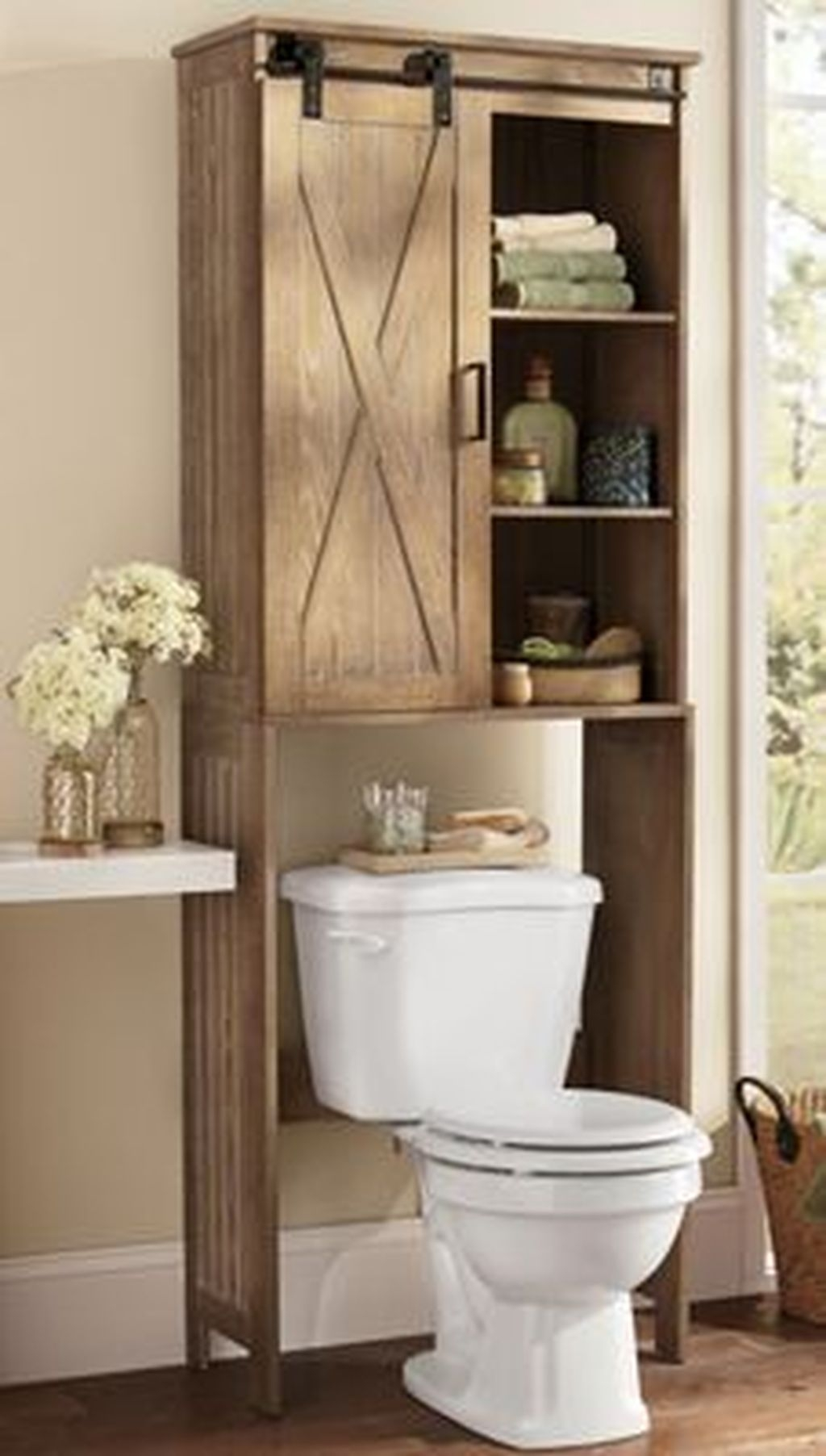 Awesome Hanging Bathroom Storage For Small Spaces 19