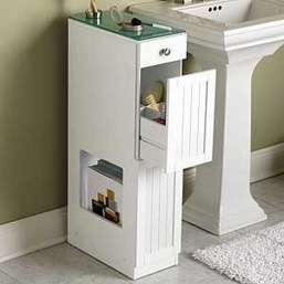 Awesome Hanging Bathroom Storage For Small Spaces 26