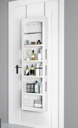 Awesome Hanging Bathroom Storage For Small Spaces 29
