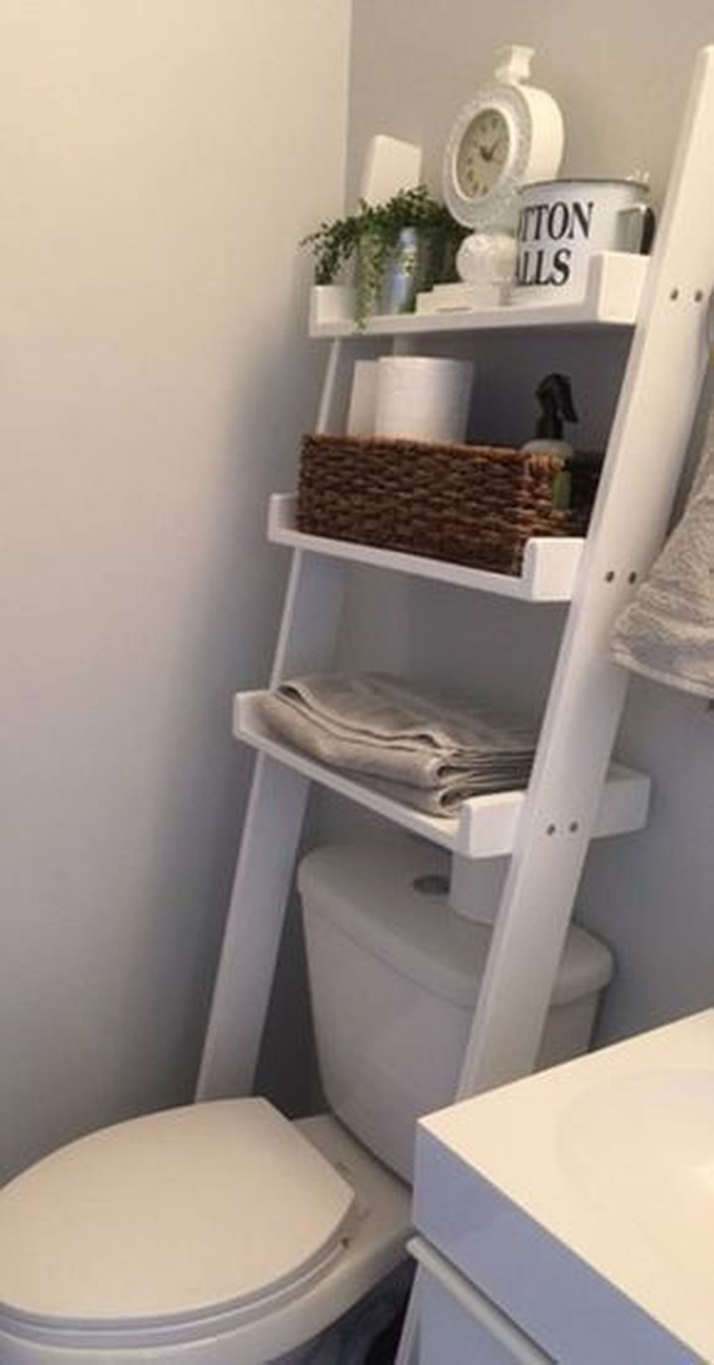 Awesome Hanging Bathroom Storage For Small Spaces 36