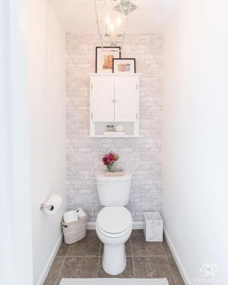 Awesome Hanging Bathroom Storage For Small Spaces 49