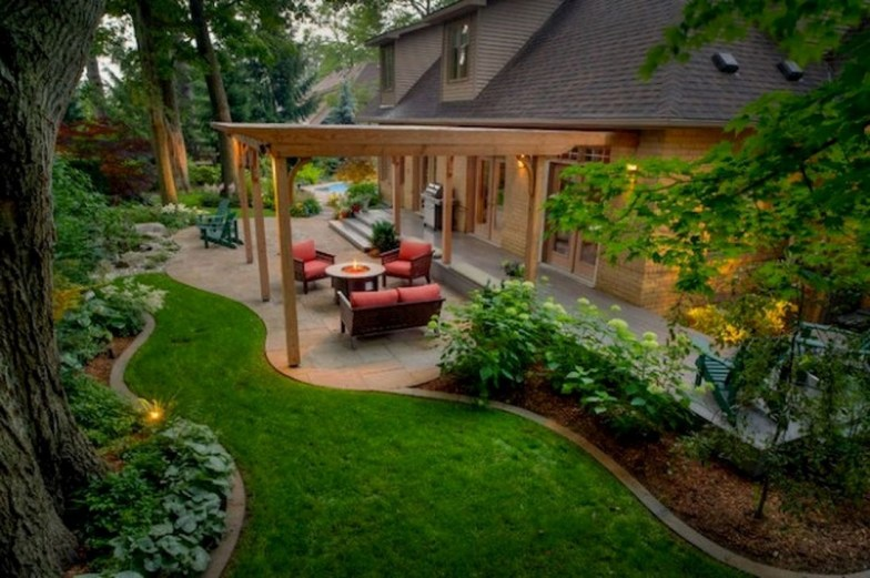 Backyard Landscaping Ideas With Minimum Budget 32