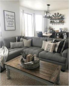 Beautiful Small Space Living Room Decoration Ideas42