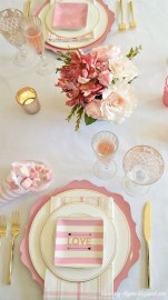 Beautiful Valentines Day Table Decor 09