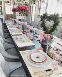 Beautiful Valentines Day Table Decor 40