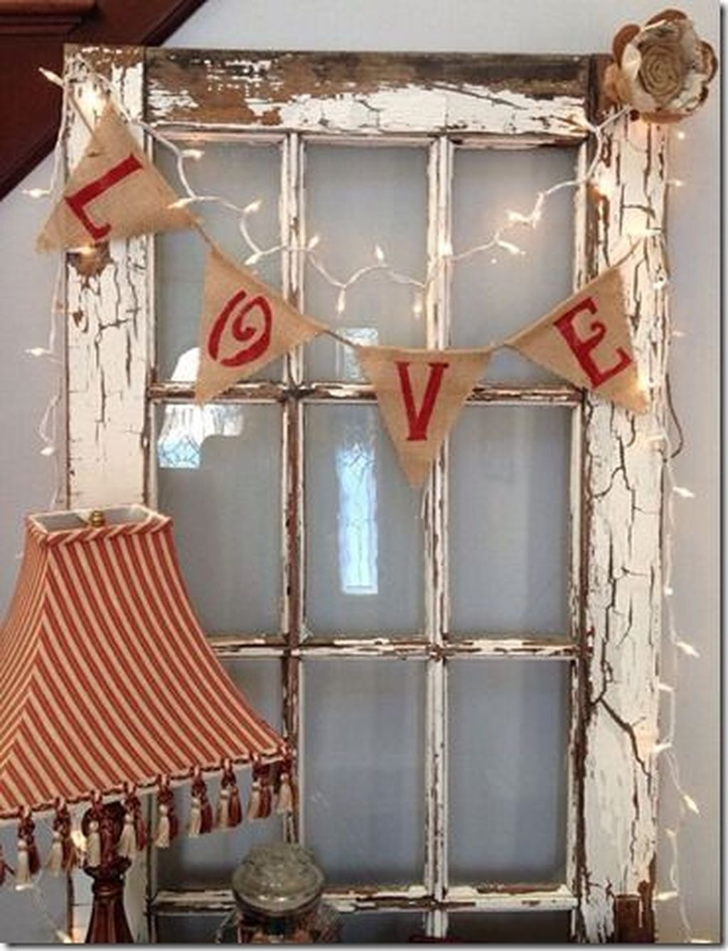 Front Porch Valentines Day Decor With LOVE Word 29