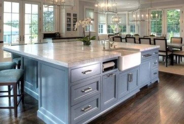 Kitchen Island Design Ideas With Marble Countertops 13