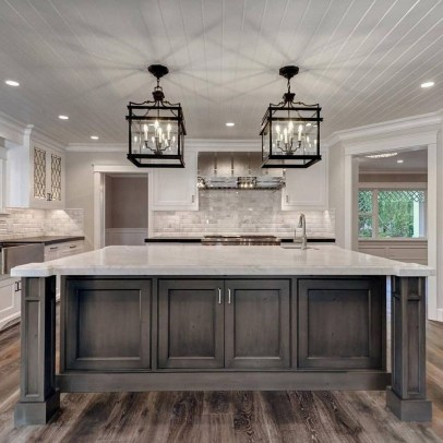Kitchen Island Design Ideas With Marble Countertops 17