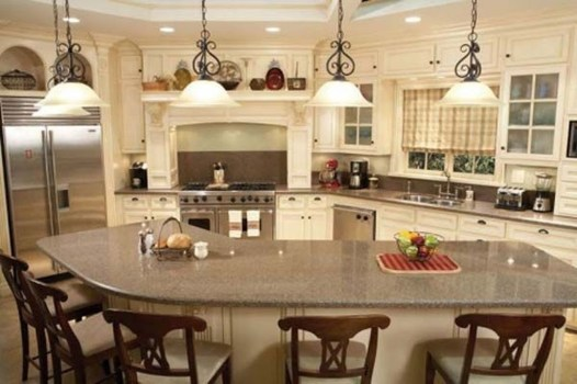 Kitchen Island Design Ideas With Marble Countertops 33