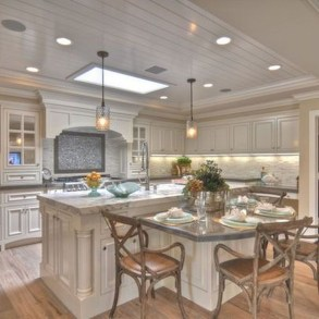 Kitchen Island Design Ideas With Marble Countertops 40