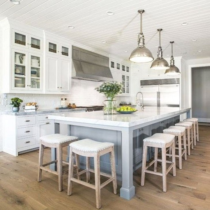 Kitchen Island Design Ideas With Marble Countertops 48