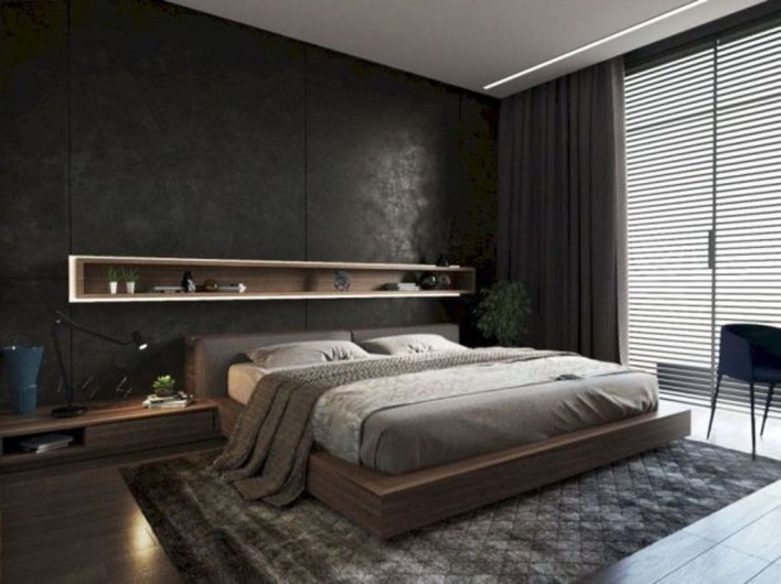 Luxury Modern Man Bedroom Design Ideas 09