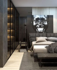 Luxury Modern Man Bedroom Design Ideas 19