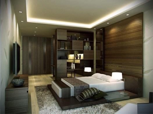 Luxury Modern Man Bedroom Design Ideas 43
