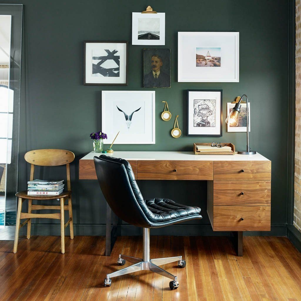 Modern Home Office Idea That Easily Implemented 09