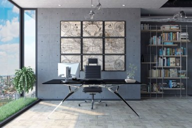 Modern Home Office Idea That Easily Implemented 11