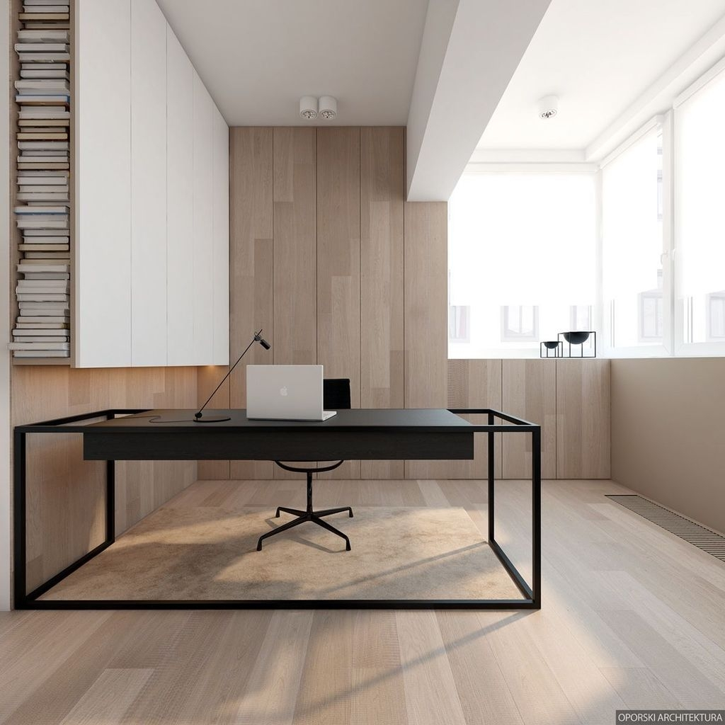 Modern Home Office Idea That Easily Implemented 17