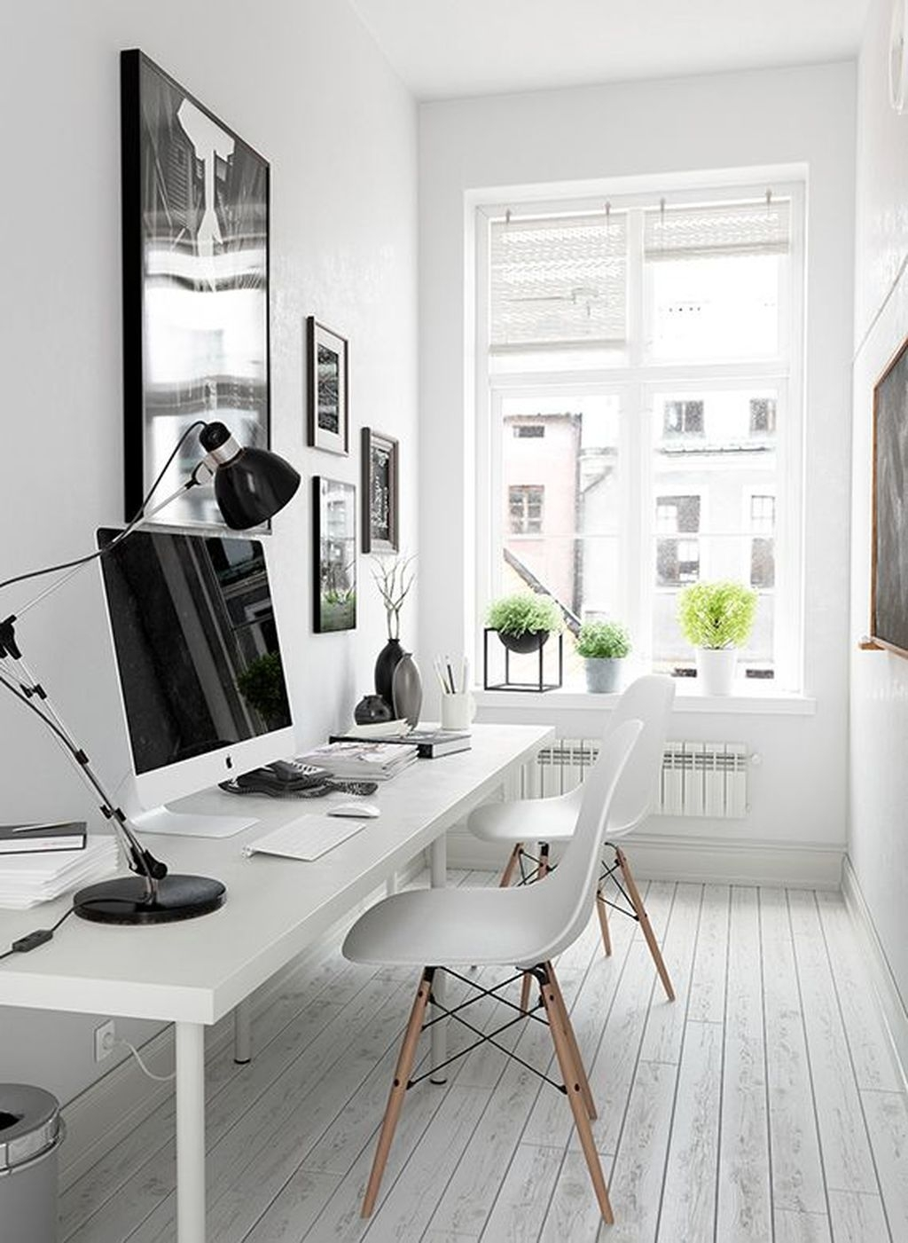 Modern Home Office Idea That Easily Implemented 27