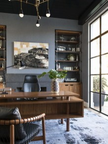 Modern Home Office Idea That Easily Implemented 37