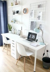 Modern Home Office Idea That Easily Implemented 47