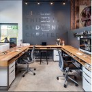 Modern Home Office Idea That Easily Implemented 50