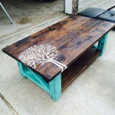 Nice Looking DIY Coffee Table 05