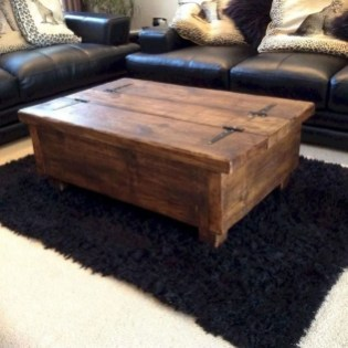 Nice Looking DIY Coffee Table 07