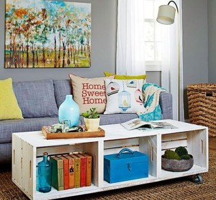 Nice Looking DIY Coffee Table 08