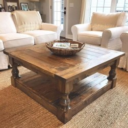 Nice Looking DIY Coffee Table 35