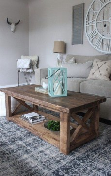 Nice Looking DIY Coffee Table 40