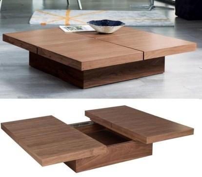 Nice Looking DIY Coffee Table 41