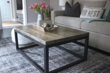 Nice Looking DIY Coffee Table 47