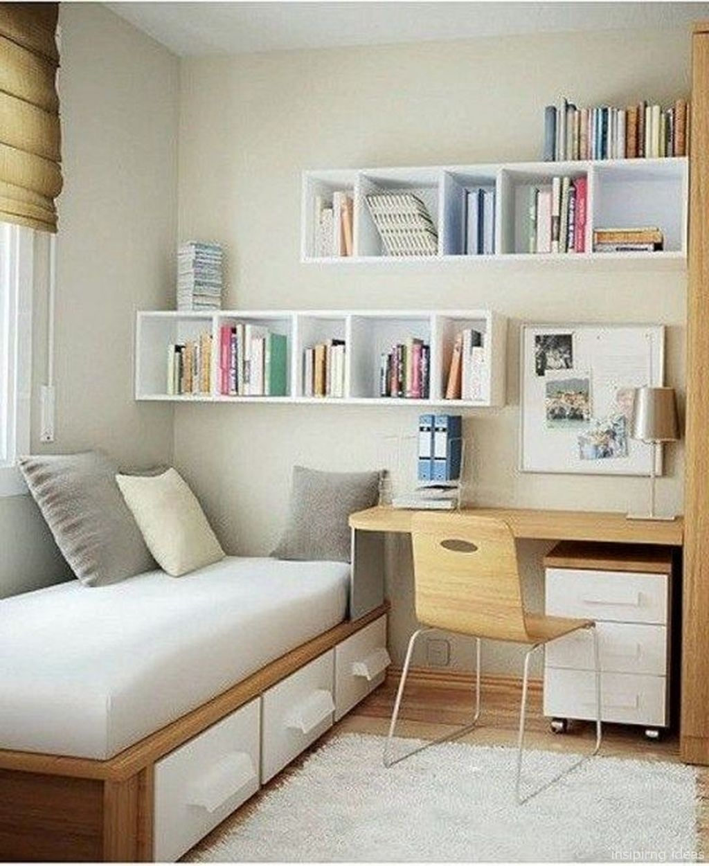 Perfect Small Bedroom Decorations 27