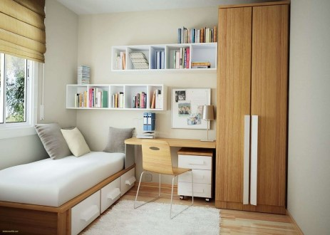 Perfect Small Bedroom Decorations 34